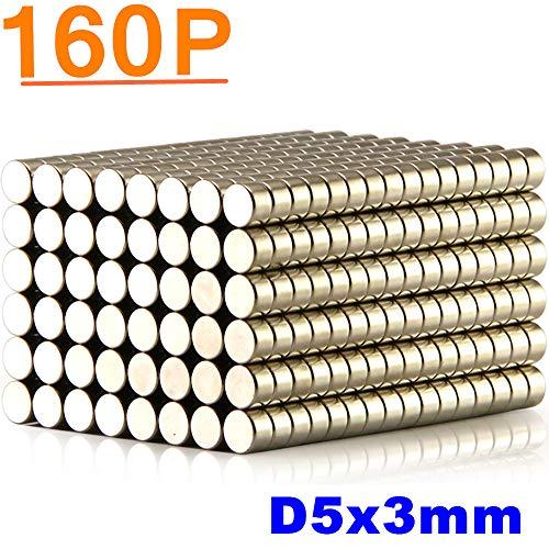 - ELECFIND Neodymium Rare Earth for Magnets, Hooks, Disc,Permanent, DIY, Building, Scientific, Craft