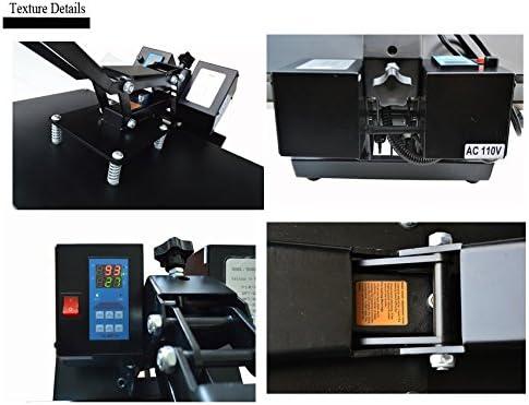 INTBUYING cortador de calor plano para impresora A4 de papel de ...