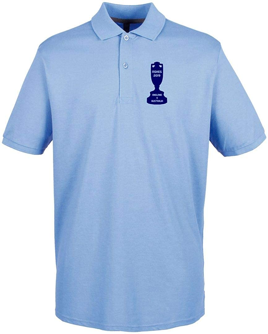England The Ashes 2019 Cup Design Polo Kids Sky