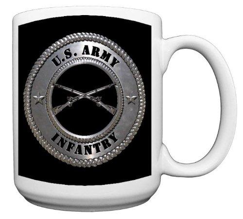 United States Army Infantry Coffee Mug CERAMIC from Redeye Laserworks