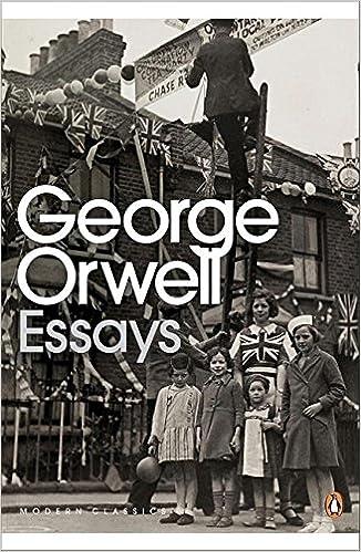 Amazon modern classics penguin essays of george orwell penguin