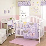 Lulu Baby butterfly Crib Bedding Set