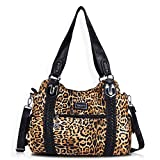 Angel Barcelo Roomy Fashion Hobo Womens Handbags Ladies Purse Satchel Shoulder Bags Tote Washed Leather Bag YEllow