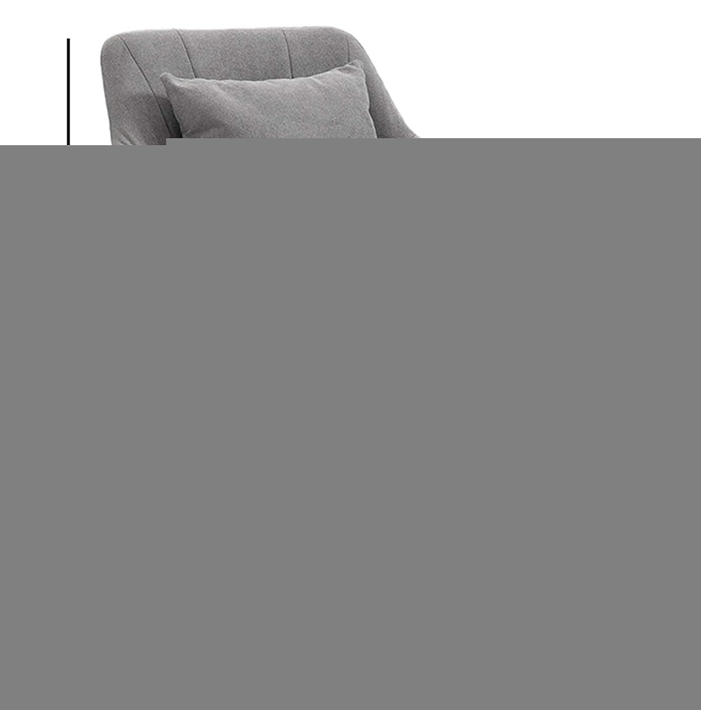 LYJBD hemmakontorsstol, bekväm tjock kudde flexibel, förbättra hållningen nu och nacksmärta, tjock stoppning för komfort och ergonomisk design Rosa