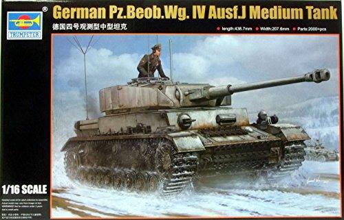 TRP00922 1:16 Trumpeter Panzer Pz.Beob.Wg.IV Ausf J Medium - Trumpeter 1 16 Panzer Iv