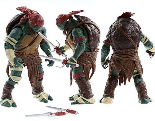 "FiraDesign 2014 Hot 4pcs/Lot Teenage Mutant 5"" Action Figure TMN Turtle Toys"