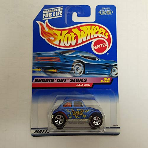 - Baja Bug 1999 Buggin' Out Series 4 of 4 Hot Wheels 1/64 diecast car No. 944