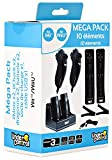 Pack d'Accessoires 10 in 1 pour Nintendo Wii U/Wii