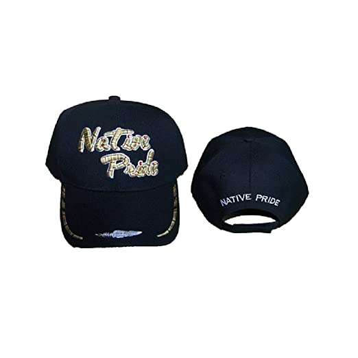 Image Unavailable. Image not available for. Color  Native Pride Embroidered  Baseball Caps ... 50413f2b3b3