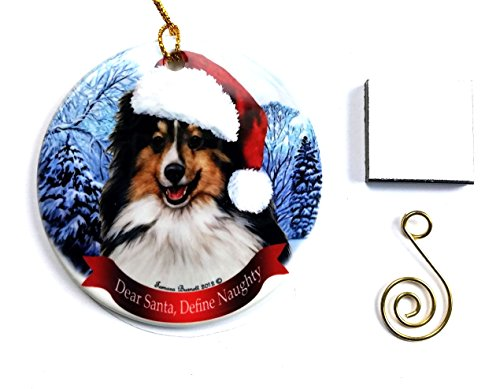 Sheltie (Tri-Color) Christmas Ornament 3