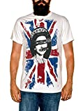FEA Men's Sex Pistols Short Sleeve T-Shirt,White,X-Large