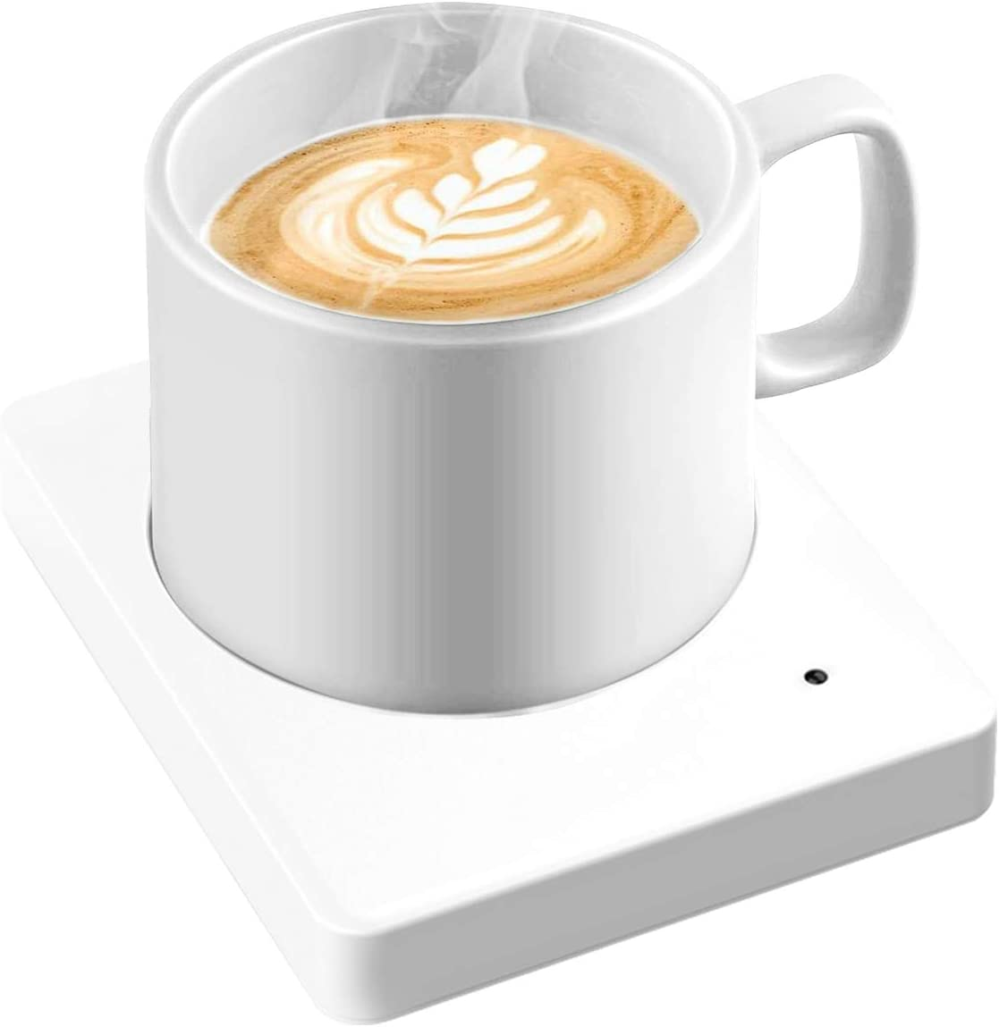 Coffee Mug Warmer - Coffee Warmer with Auto Shut Off,Smart Temperature Setting Warmer Plate for Coffee, Milk, Tea, Beverage and Hot Cocoa.(No cup)