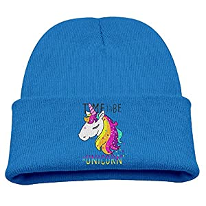 PINGBO Time To Be Unicorn Kid Funny Street Beanie Hat