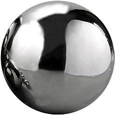 Eronde Silver Stainless Steel Gazing Balls Mirror Polished Hollow Ball  Garden Sphere