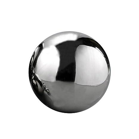 Aneil 12 Inch Stainless Steel Gazing Ball Seamless Mirror Balls Sphere  Hollow For Outdoor Garden