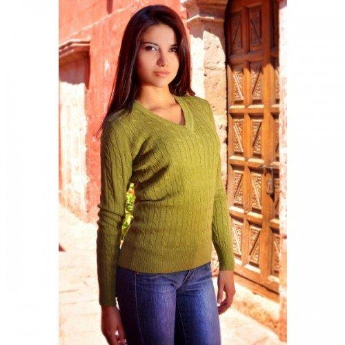Mitos Natural Elegance - Jerséi - para mujer Verde