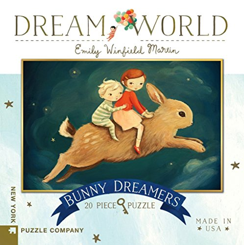 (New York Puzzle Company - Dream World Bunny Dreamers - 20 Piece Jigsaw)
