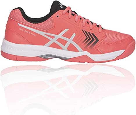 ASICS Gel Dedicate 5 Women's Tennis Shoes 8.5 Orange