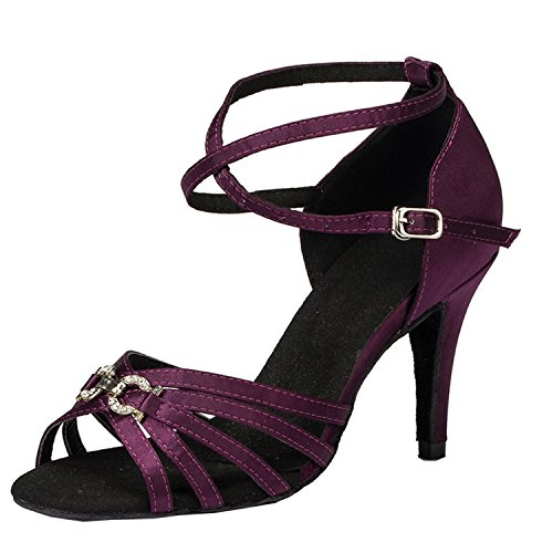 Minitoo ,  Damen Tanzschuhe , violett - violett - Größe: 35