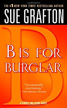 B is for Burglar 0312939000 Book Cover