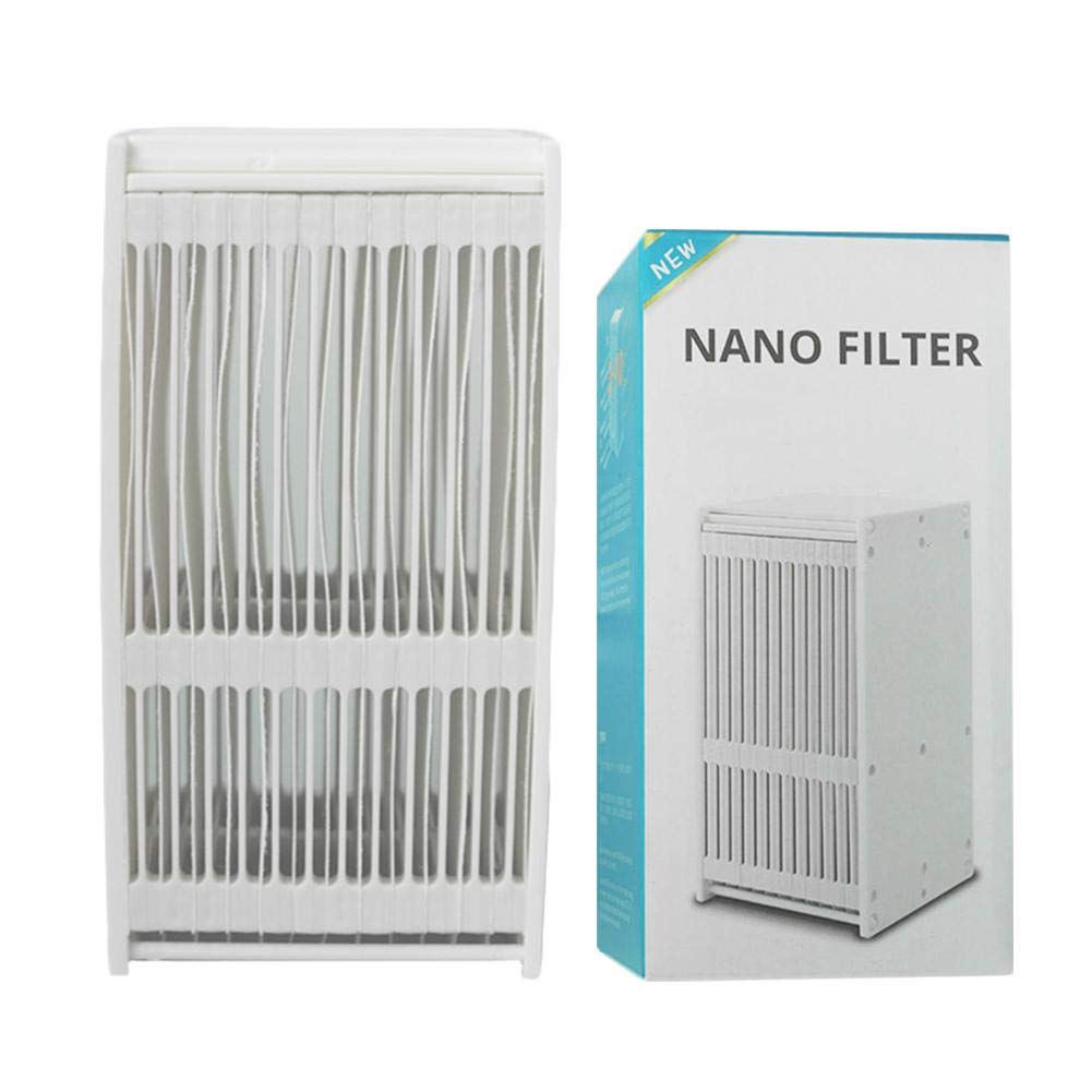 Nano Filter Portable USB Air Conditioner Desk Fan Filter with lowered to 3-10 degrees Cooling Humidifier Personal Quiet Anion LED Cooler for Home Office Outdoor Study Summer Use 2.762.765.24in