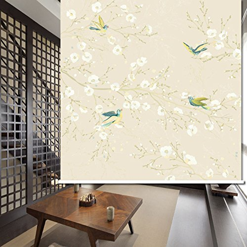 PASSENGER PIGEON Thermal Insulated Blackout Fabric Custom Window Roller Shades Blinds,57