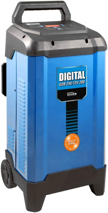 G/üde Batterieladeger/ät Batterielader Autobatterie 12-24V mit Starthilfe 200A f/ür Autobatterie