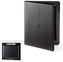 Rock & Republic Carbon Fiber Ipad 2 3 Case Black Engraved Logo