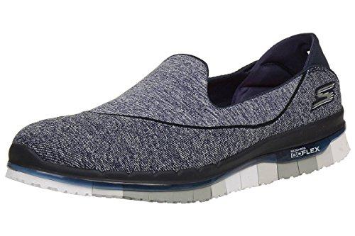 Skechers Performance Women's Go Flex Slip-On Walking Shoe, Navy/Gray, 8 M US 14010