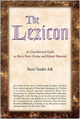 Lexicon - фото 11