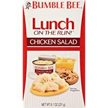 Bumble Bee Lunch on The Run Kit, Chicken Salad , 8.1 Ounce (Pack of 4)