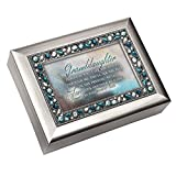 Granddaughter Cottage Garden Jeweled Musical Music Jewelry Box Plays You Light Up My