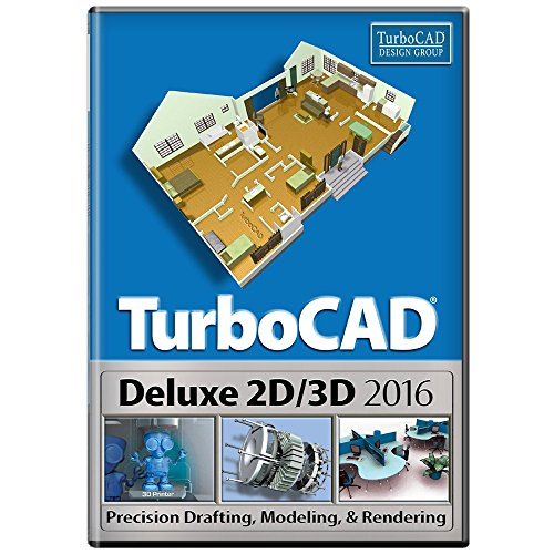 TurboCAD Deluxe 2016 [Download] by TurboCAD Design Group