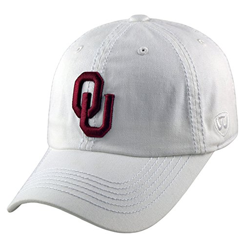Oklahoma Sooners Hat Icon White - White Red