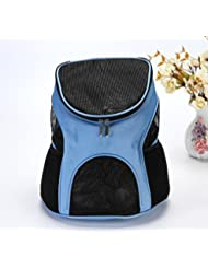 MESASA Pet Carrier Backpack Space Capsule PU Leather Dog Cat Small Animals Travel Bag