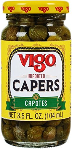 Vigo Caper Capotes, 3.5 Ounce (Pack of 12)