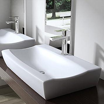 Lavabo Vasque À Poser Ou Monter Au Mur Évier Design Bruxelles 890 ...