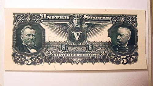 1896 Educational Series and 1901 Bison Banknote Copy Reproductions