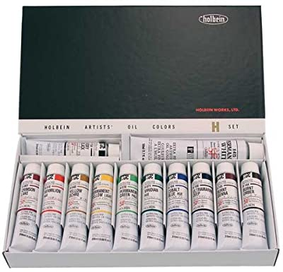Holbein Oil H905 Set Of 12 Tubes