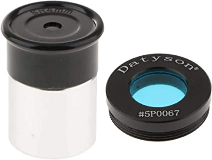24.5mm SR4mm Eyepiece Fully Coated HD Film Universal 35 Degree Clear View Planet Deep Sky Object Surface Detail /& Moon Filter Blue Color 0.965 Inch