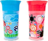 Baby : Sassy 9oz. Insulated Grow Up Cup - 2 Pack, Colors May Vary