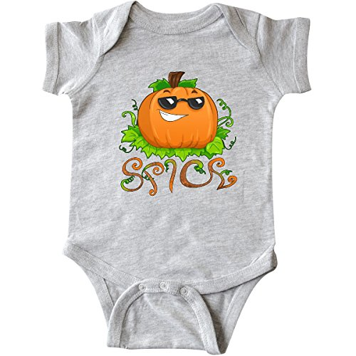 inktastic Pumpkin Spice With Sunglasses Infant Creeper 12 Months Heather - 1930 Sunglasses