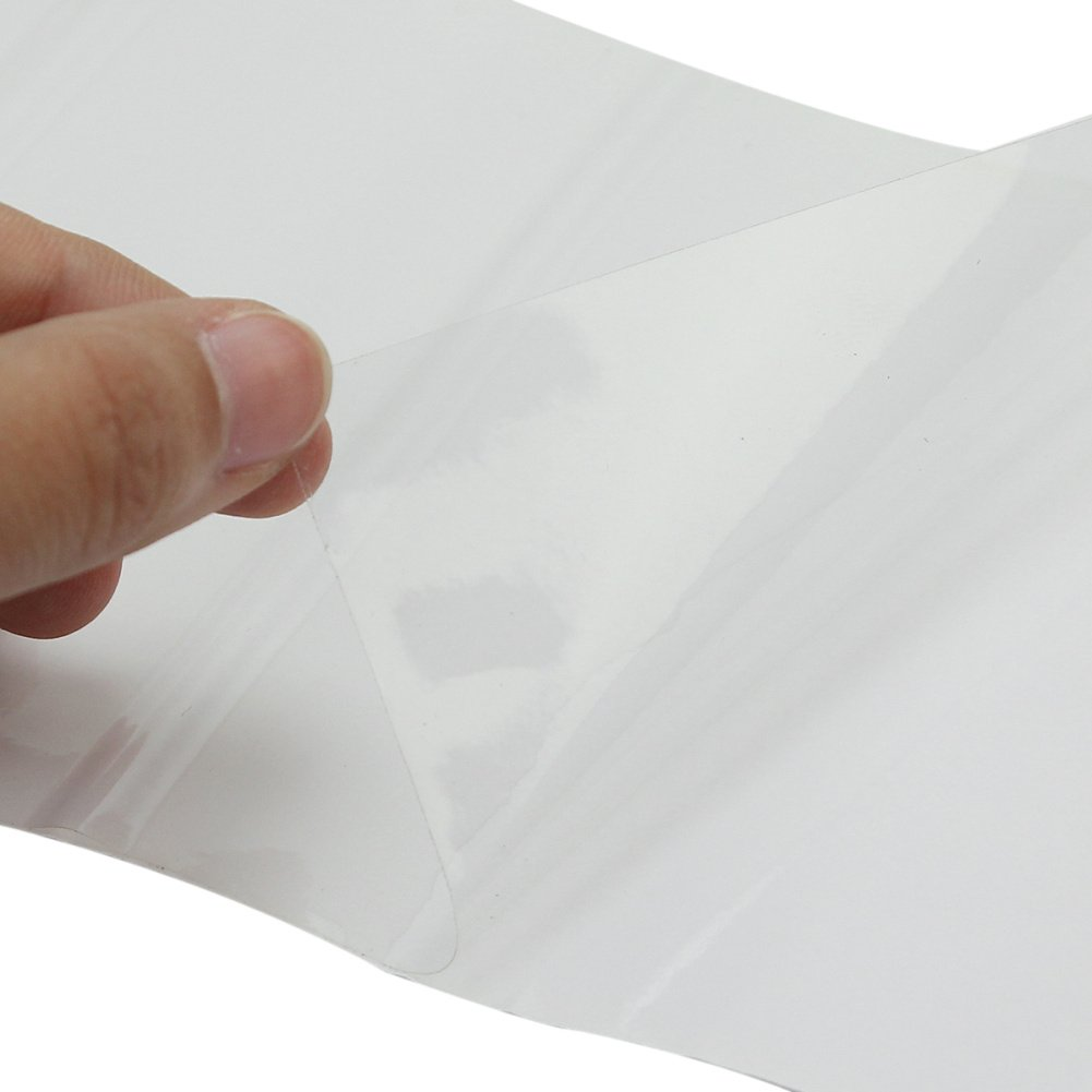 Lack Schutz Folie Universal Lackschutzfolie Schutzfolie f/ür AutoSto/ßstange 100x10cm