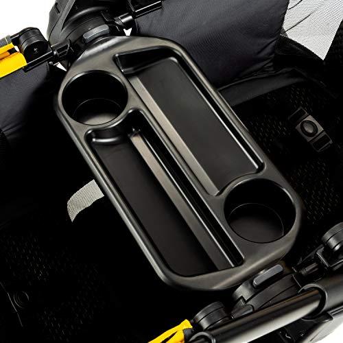 5186p7d6clL - Evenflo Pivot Xplore All-Terrain Double Stroller Wagon, Adventurer Gray