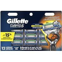 12-Count Gillette Fusion5 ProGlide Men's Razor Blade Refills