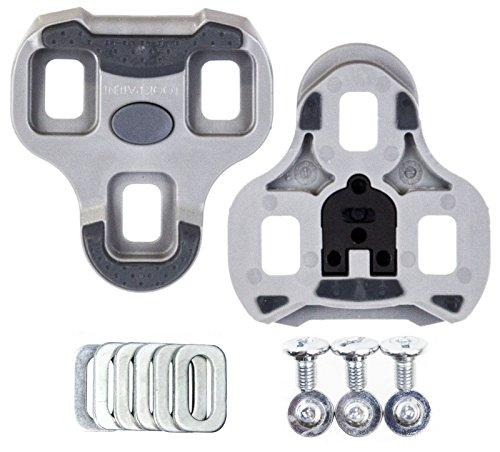 Look KEO Grip 4.5 Degree Cleats, Grey (Look Keo Pedals)