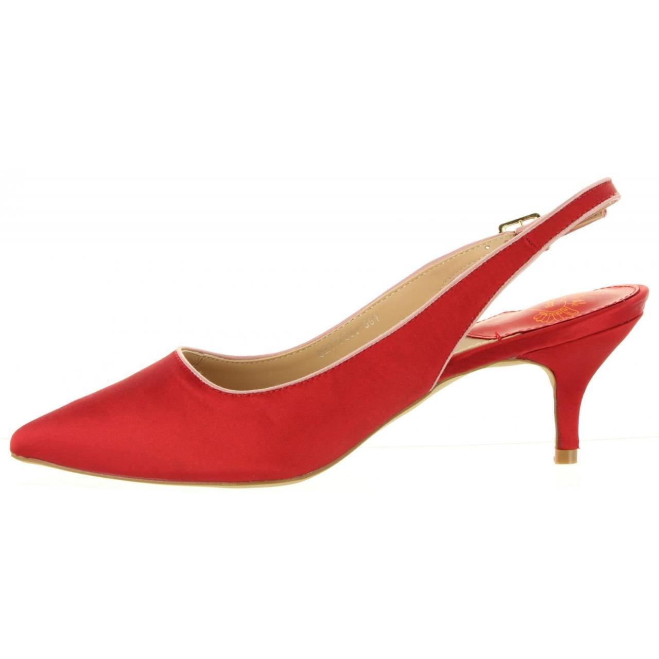 MTNG Schuhe Ferse für Damen Damen Damen 57591 MACIS C41437 rot 00a6bb