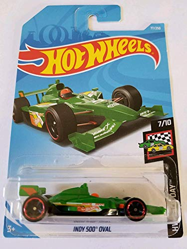 (Hot Wheels 2019 Hw Race Day 7/10 - Indy 500 Oval (Green))