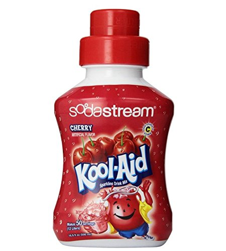 Sodastream Kool Aid Tropical Punch Syrup 500ml: SodaStream Kool Aid Cherry Syrup, 500mL Food, Beverages