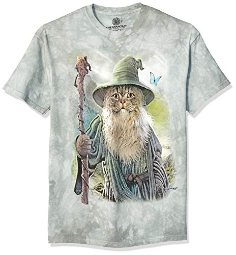 The Mountain Unisex-Adult's Catdalf, Green, 2XL (Shirt Mountain Big)